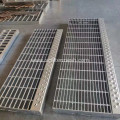 30mmx100mm Galvanized Steel Grid Stairway