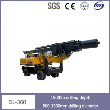 15-20 Meter Dl-360 Pile Driver Machine for Sale
