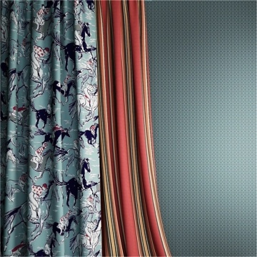 Electric Timeless Cloth Curtain Drapery