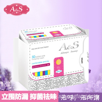 Sanitary Cotton Eco Loose Organic Sanitary Napkin Pad