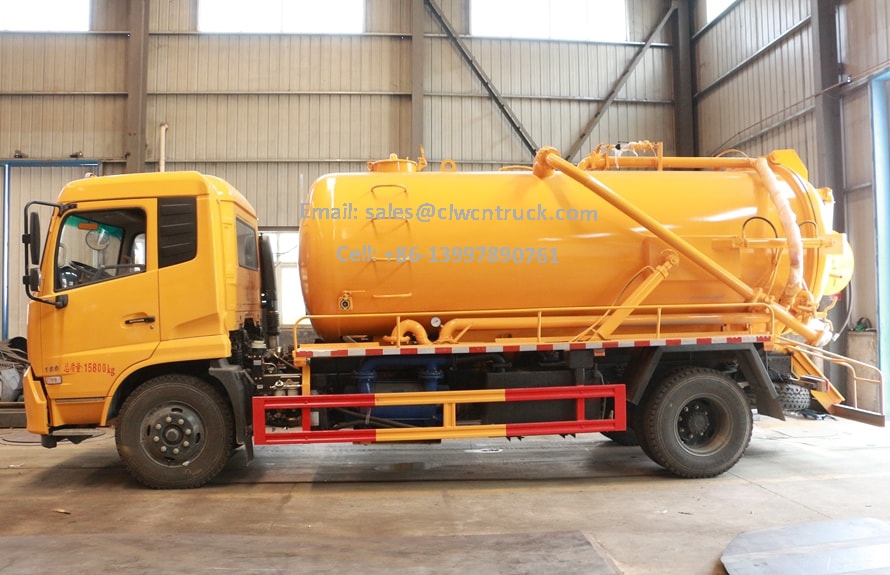Vaccum Sewage Truck For Sale