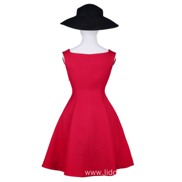 Wholesale Sleeveless Vintage Dress Vintage Dress for Women