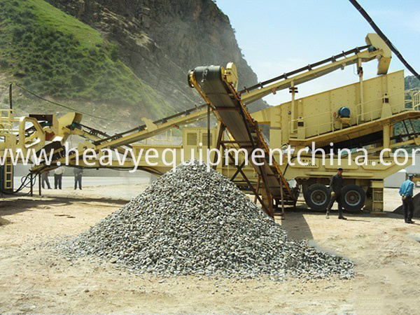 Mobile Impact Crushing Station
