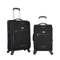 Nylon fabric classical design soft luggage