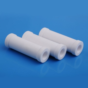 Flanged 96 Al2o3 Alumina Ceramic Tube