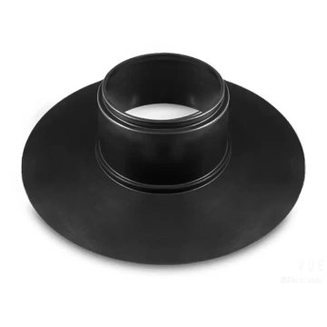 Round base rubber pipe flashing for construction