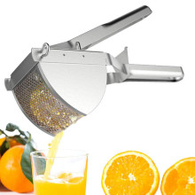 Stainless Steel Commercial Potato Ricer for Baby Food Creamy Fluffy Mashed Potato and Fruit Kitchen Accessories Cooking