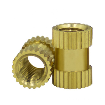customized size brass melt insert threaded nut