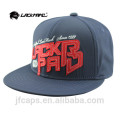 navy cotton snapback hiphop flat cap