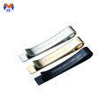 Stainless steel cool tie clip blank