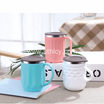 400ml Thermos Vacuum Double Wall Coffee Insulated Mugs