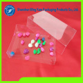 Clear Plastic Soft Crease Folding Box Packaging without Printing for Teas or Spices with Nice Price
