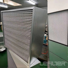 High temperature resistant plate filter
