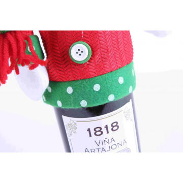 Christmas Bottle Decoration Clothes