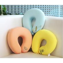 Travel Comfort Plush U-Shaped Neck Pillow
