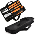 5PCS BBQ Set With 600D Oxford Bag