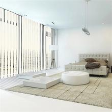 Motorized Sheer Fabric Vertical Shades