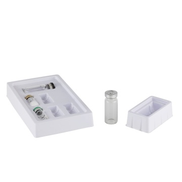 Vial bottle medical ampoule blister tray plastic