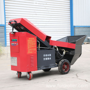 High performance hydraulic trailer mount concrete pouring pump FMP-34