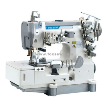 High Speed Flatbed Interlock Sewing Machine for Tape Binding