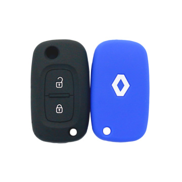 Waterproof silicone rubber key cover for Renault car