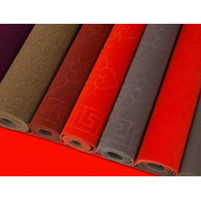 Factory wholesale anti slip velour jacquard carpet