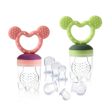 Cute Animals Silicone Baby Food Fresh Pacifier Feeder