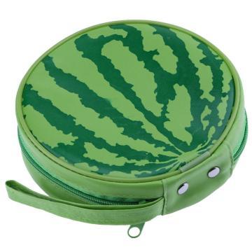Watermelon Pattern Portable 24pcs Disc Capacity DVD CD Storage Case Organizer Sleeve Wallet Cover Bag Box Environment Protect CD