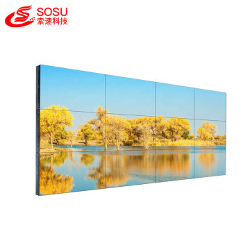 55 inch lcd video wall with seamless bezel