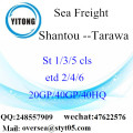 Shantou Port Sea Freight Shipping To Tarawa
