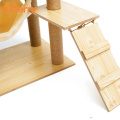 Modern Cat Large Climbing Scratch Tree Tower House