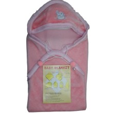 Polyester baby sleeping bag blanket for Africa