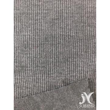 Black Grey Houndstooth Jacquard Knit