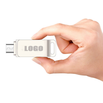 Benutzerdefinierte Mini Swivel Metal Otg USB-Stick