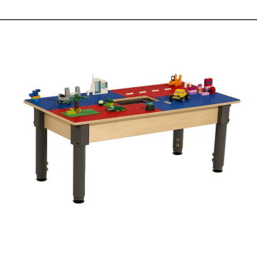 Craft Table and Sensory Table with Storage