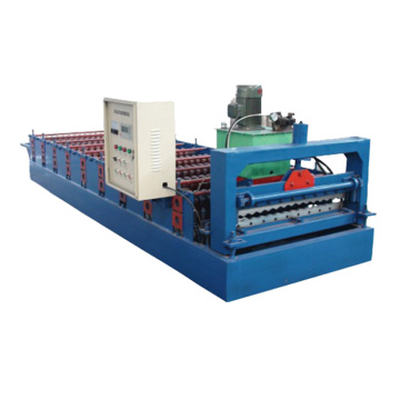 Colored Metal Roof Profile Cold Sheet Making Machine