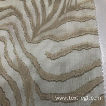 White And Golden Pattern Tc Woven Fabric