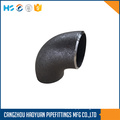 90 Degree SCH40 ButtWeld Pipe Fittings Elbow
