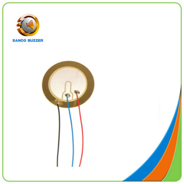 Piezo Ceramic element 27mm 3.5Khz with wires