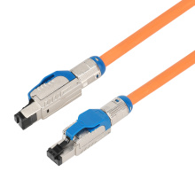 Field Assembly RJ45 Plug With Clasp Cat8 Shielded