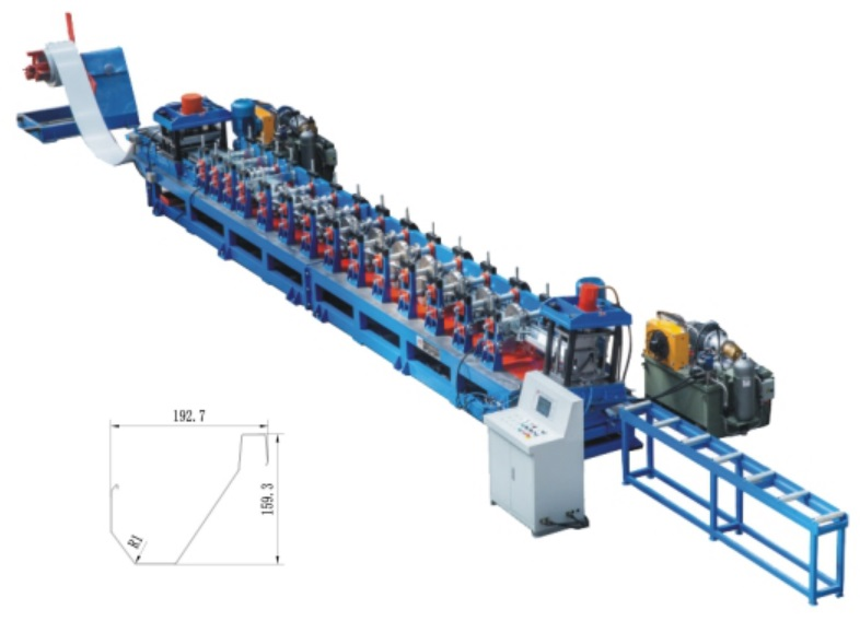 Poultry Feeding Roll Forming Machinery
