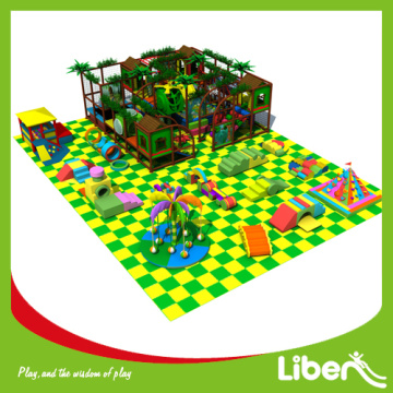 Open set up build  indoor playground