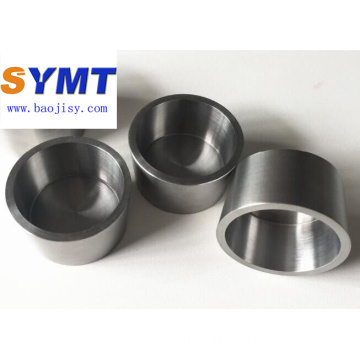 Molybdenum crucible Mo2 in stock