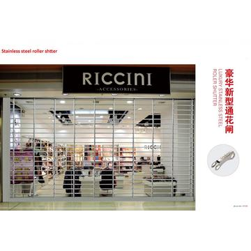 Transparent Komercial Roll up Shop Door