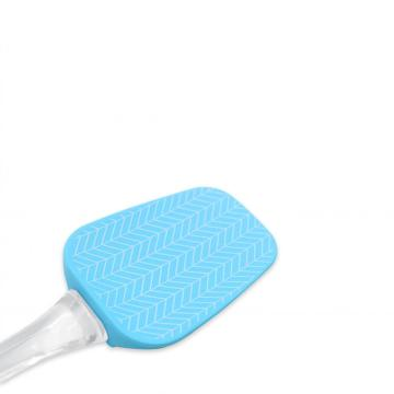 Heat-Resistant Silicone Spatula with PS handle