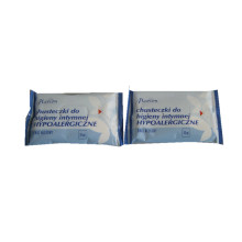 Hypoallergenic Intimate Feminine Wipes Disinfectant Wipes