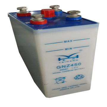 110V 450AH NI-CD medium rate nicd battery