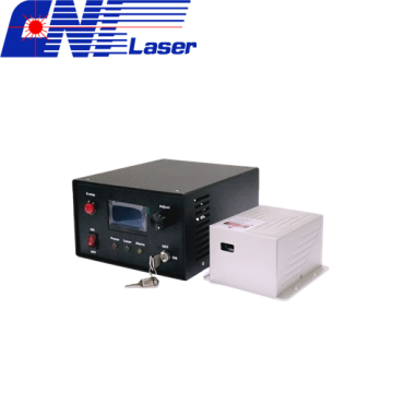 408-412nm Narrow Linewidth Wavelength Tunable Laser