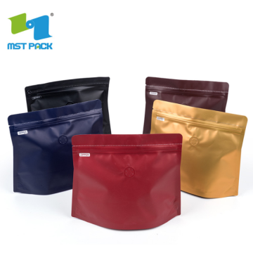 Biodegradable coffee bag with 10 colors