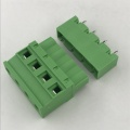 7.62mm pitch Vertical PCB pluggable terminal block connector